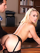 Office Babe Fucked On Desk